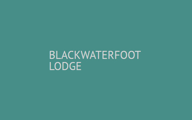 Blackwaterfoot Lodge
